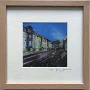 Höninger Gewerbehöfe Fotoprint im Passepartout und Rahmen 25x25cm 30,-€