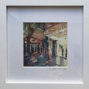 Yummy Town Fotoprint im Passepartout und Rahmen 25x25cm 30,-€