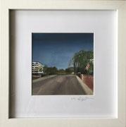 Landskronstraße Teil 2  Fotoprint im Passepartout und Rahmen 25x25cm 30,-€