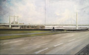 2018 Rodenkichener Brücke 2x80x100cm 1300,-€