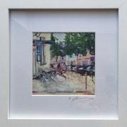 Höninger Fotoprint im Passepartout und Rahmen 25x25cm 30,-€
