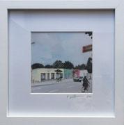 Gottesweg1 Fotoprint im Passepartout und Rahmen 25x25cm 30,-€