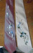 Cà vạt vẽ của Hân Japanese