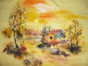 Áo vẽ của Huỳnh Hiền