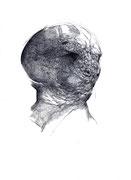 """""""Sans titre""""/crayon sur papier/29,7x21cm/2011."""