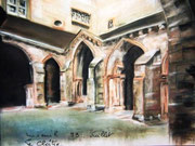 884- Le cloître Luxeuil