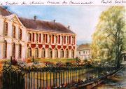 862- La mairie, le jardin des olives à Remiremont