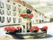 860- La fontaine des éléphants, Remiremont