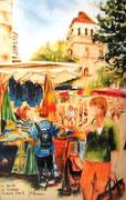 872- Le marché de Cahors