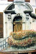 861- La porte du presbytère, Remiremont