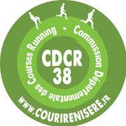 Logo Commission Départementale des Courses Running
