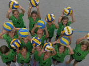 Gruppenfoto Volleyball Bambinis