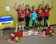 Gruppenfoto Volleyball Midis