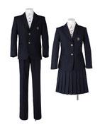 川島中学校男女春制服