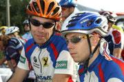 Sauwaldman vor dem Start mit meinem Bruder