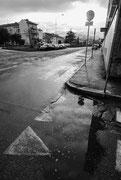 Viale Castelfidardo dopo la pioggia © Giuseppe Petenzi  2014