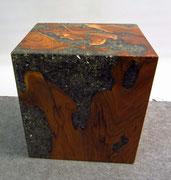 Wurzelholz Deko Acrylblock Möbel Naturholz - Yin & Yang Asiatika Klaus Dellefant
