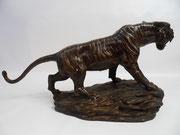 Tiger aus Bronze - Yin & Yang Asiatika - Klaus Dellefant