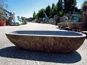 Steinbecken Waschbecken Steinschale Garten - Yin & Yang Asiatika - Klaus Dellefant - München