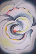 """IRIS #5"", Pastellmalerei auf Papier"