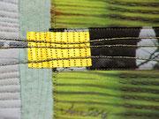 """Textile Collage """"Licht ist immer"""", Detail"""