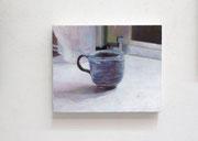 キッチン・マグカップ 252×315mm パネルに和紙 アクリル