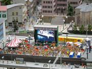 Public viewing Sportveranstaltung auf Grossleinwand