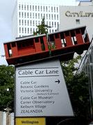 Ein zweiter Programmpunkt war die Fahrt mit dem «Cable Car» . . .