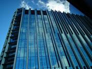 Imposante Glasfassade