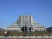 Messe-Gelände beim Atomium in Brüssel