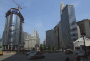 Auch Chicago hat viel «Grün» und nicht nur Glas, Stahl und Beton