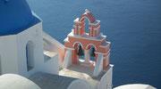 Eine faszinierende Insel mit den beiden Städtchen Oia und Thira