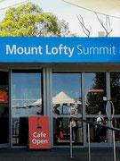Die Stadtrundfahrt führt auch hinauf auf den Mount Lofty mit einer Höhe von 727 m.ü.M.