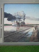 und andererseits die bewegte Geschichte von Vicksburg vom Handel auf dem Mississippi. . .