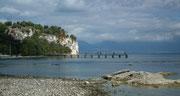 Spaziergang dem Ufer entlang Richtung Grotte di Catullo
