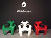 2012 Colani Chairs Code Exhibition Milano