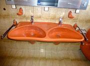 1980 Badezimmer-Serie COLANI Design - Doppel-Waschbecken