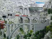 Einige Brücken inspiriert von Schweizer Bauwerken