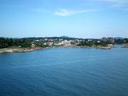 Ein Blick auf eine weitere schöne Uferzone