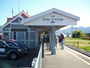 Blenheim trägt mit Stolz den Namen «The Wine Station»