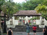 Eingangsbereich der Tempelanlage