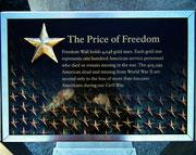 The Price of Freedom - Der Preis für den Frieden . . .
