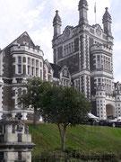 Tolles Gebäude aus dem Jahre 1885: «Otago Boy's High School» für 800 Schüler