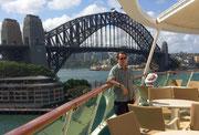 Blick zurück zur «Harbour Bridge»