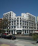 Ein Blick auf das sehr schön gelegene Hotel The Waterfront in Sliema