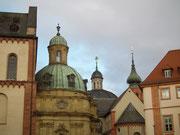 Blick in die Altstadt, bzw. auf die vielen Kirchen-Türme