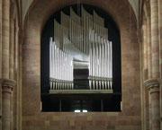 Die 2010 neu gebaute Orgel mit 5496 Pfeifen. Finanziert durch die BMW-Hauptaktionärsfamilie Quandt.