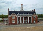 Der wunderschöne und gut erhaltene Bahnhof von Vicksburg