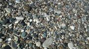 Dadurch ist der Strand sehr sauber und die feine Fussmassage ist kostenlos