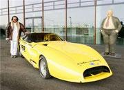 1991 Colani Strasburg-CORVETTE für spätere Rekordfahrten